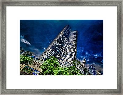 The Dark Tower Framed Print by Randy Scherkenbach