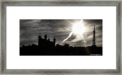 Framed Print featuring the photograph The Dark Towers by Stwayne Keubrick