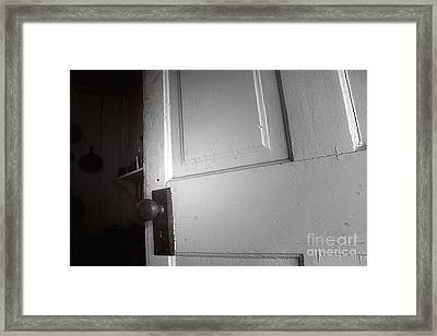 The Dark Framed Print by Trish Mistric