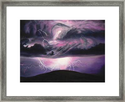 The Darkest Day Framed Print