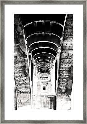 The Darkness Retreats Framed Print