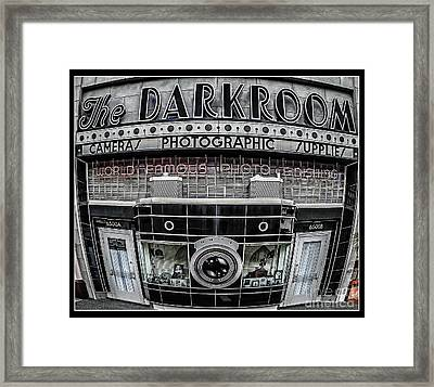 The Darkroom Framed Print by Edward Fielding