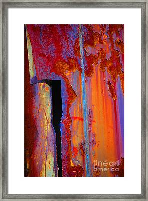 The Darkside Framed Print