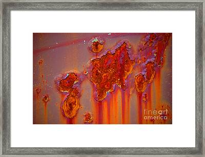 The Darkside IIII Framed Print