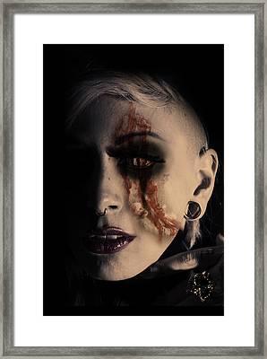 The Darkside Framed Print
