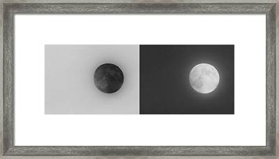 The Darkside Of The Moon Framed Print