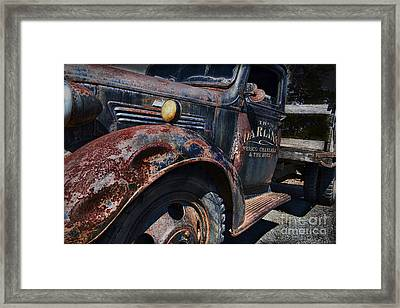 The Darlins Truck Framed Print by David Arment