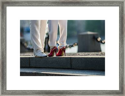 The Date - Featured 3 Framed Print