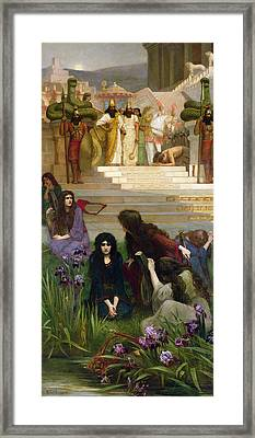 The Daughters Of Judah In Babylon Framed Print