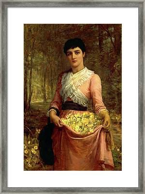 The Daughters Of Our Empire Framed Print by Litz Collection