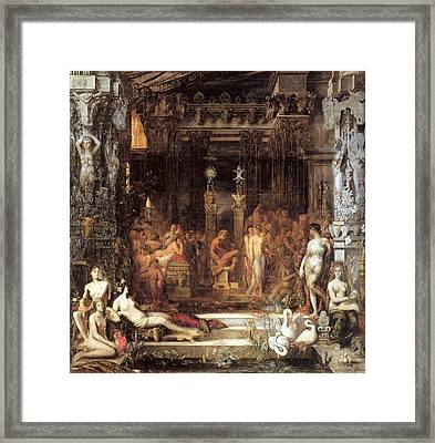 The Daughters Of Thespius Framed Print