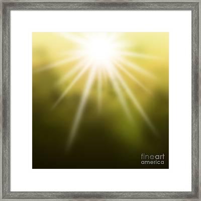 The Dawn Framed Print