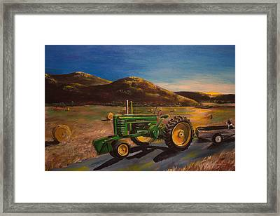 The Dawn Of A New Day Framed Print by Julia Robinson