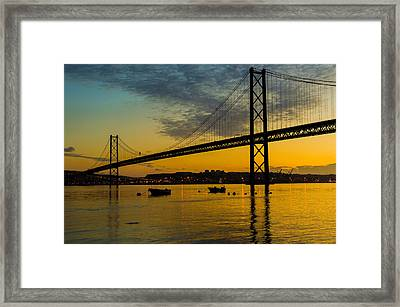 The Dawn Of Day I Framed Print by Marco Oliveira