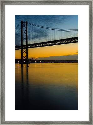 The Dawn Of Day II Framed Print by Marco Oliveira