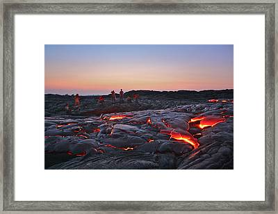 The Dawn Of Time Framed Print