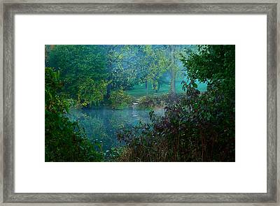 The Dawn Of Tranquilty Framed Print