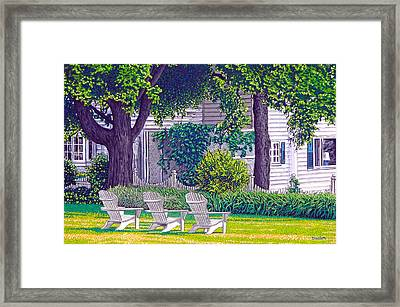 The Day Awaits Framed Print by David Linton