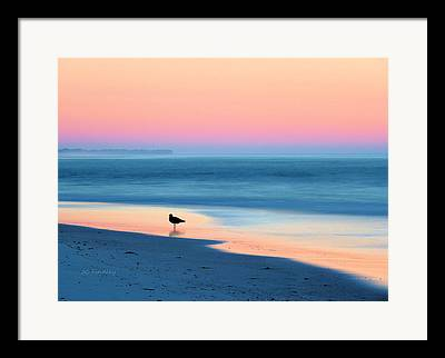Atlantic Beaches Framed Prints