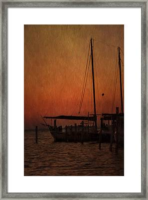 The Day Is Done Framed Print by Kim Hojnacki