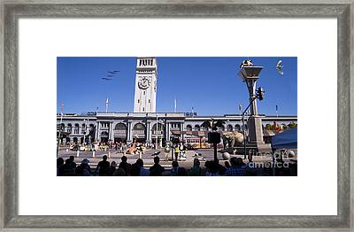 The Day The Circus Came To Town Again Dsc1745 Long Framed Print by Wingsdomain Art and Photography