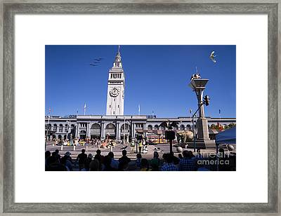 The Day The Circus Came To Town Again Dsc1745 Framed Print by Wingsdomain Art and Photography