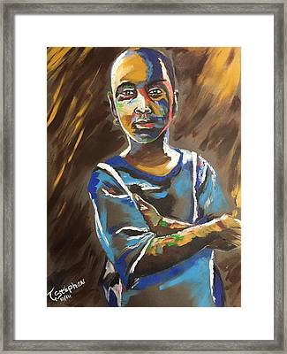 The Daydreamer Framed Print by Terbius  Stephen