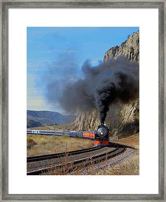 The Daylight 4449 Montana Driveby Framed Print
