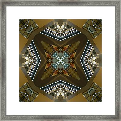 The Dazzling Mall Framed Print