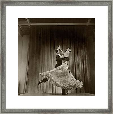 The De Marcos Dancing Framed Print