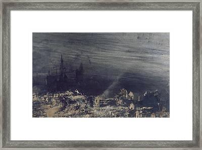 The Dead City Framed Print by Victor Hugo