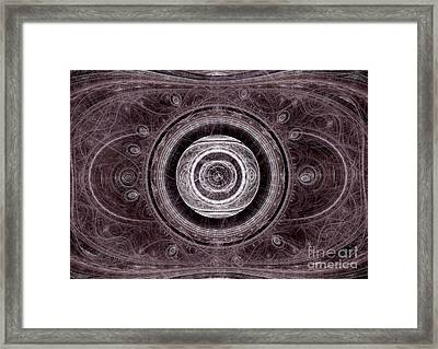 The Dead Eye Framed Print by Martin Capek
