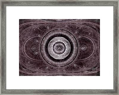 The Dead Eye Framed Print