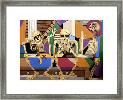 The Dead In Christ 1 Thessalonians 4-16 Framed Print by Anthony Falbo