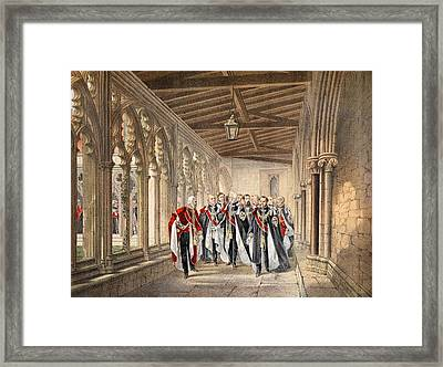 The Deans Cloister, Windsor, 10th Framed Print by English School
