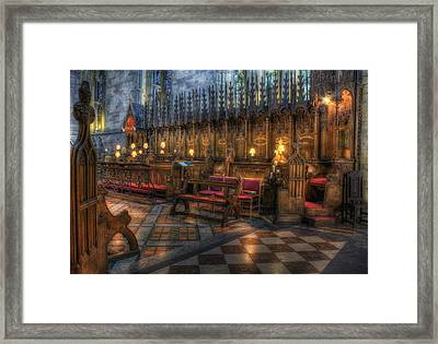 The Dean's Seat Framed Print by Ian Mitchell