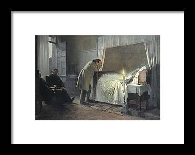 Gustave Flaubert Framed Prints