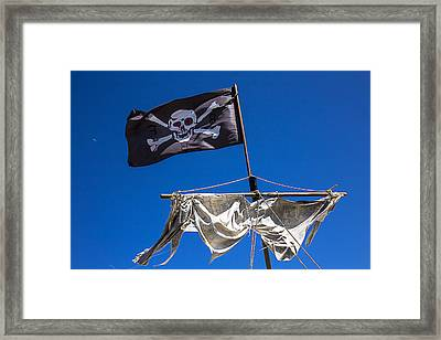 The Death Flag Framed Print by Garry Gay