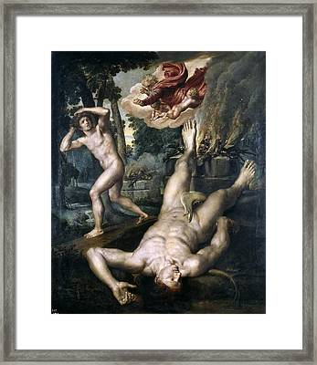 The Death Of Abel Framed Print