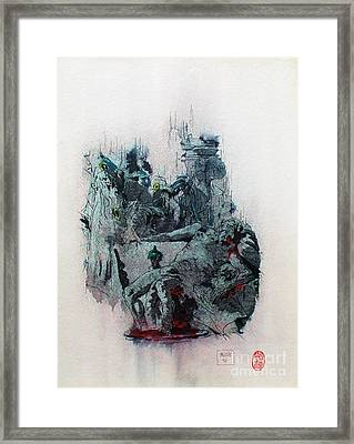 The Death Of Seneca Framed Print by Roberto Prusso