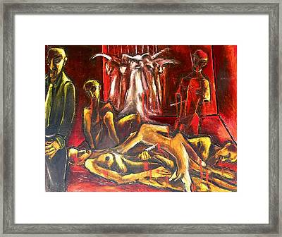 The Death Room Framed Print