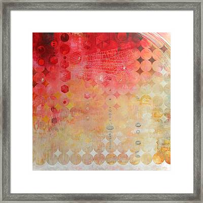 The Decay Of Starlight Framed Print by Sandra Cohen