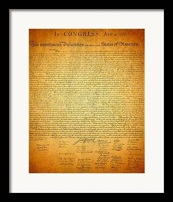 Signature Mixed Media Framed Prints