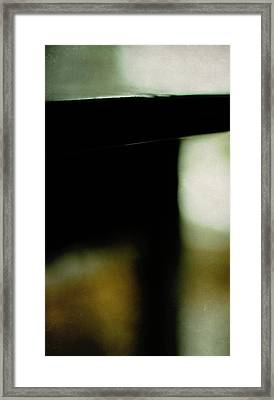 The Deco Table Framed Print by Rebecca Sherman