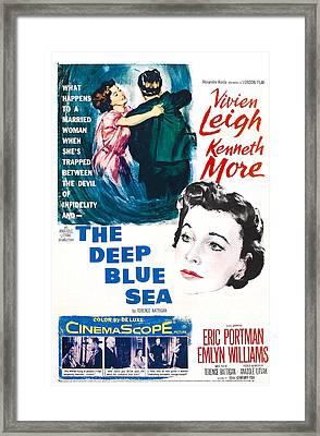 The Deep Blue Sea, Us Poster, Vivien Framed Print by Everett