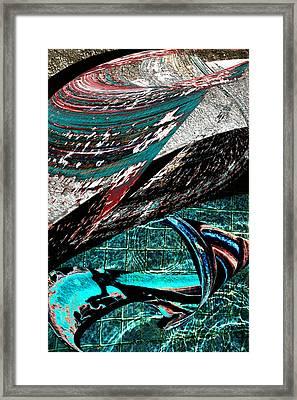 The Deep End Framed Print by Linda Dunn