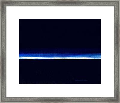 The Deep Framed Print