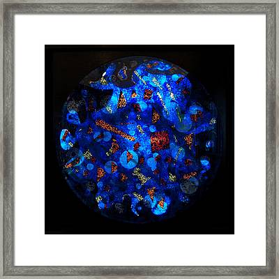 The Deep Three Framed Print