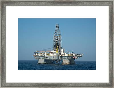The Deepwater Horizon Framed Print
