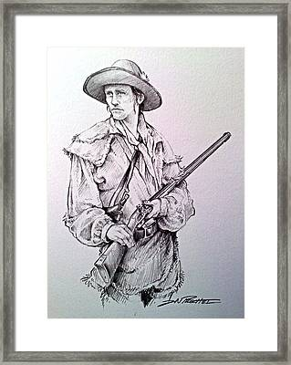 The Deerslayer Framed Print